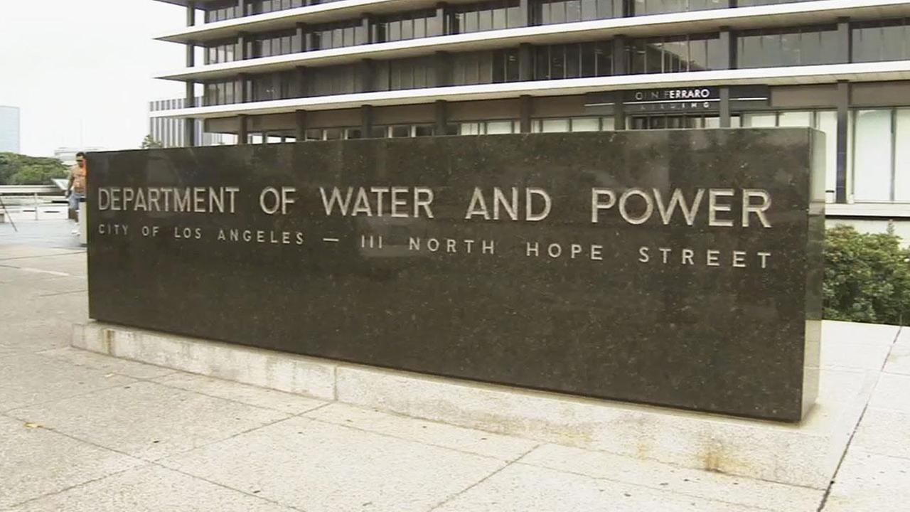 Los Angeles Department of Water and Power is shown in this undated file photo.