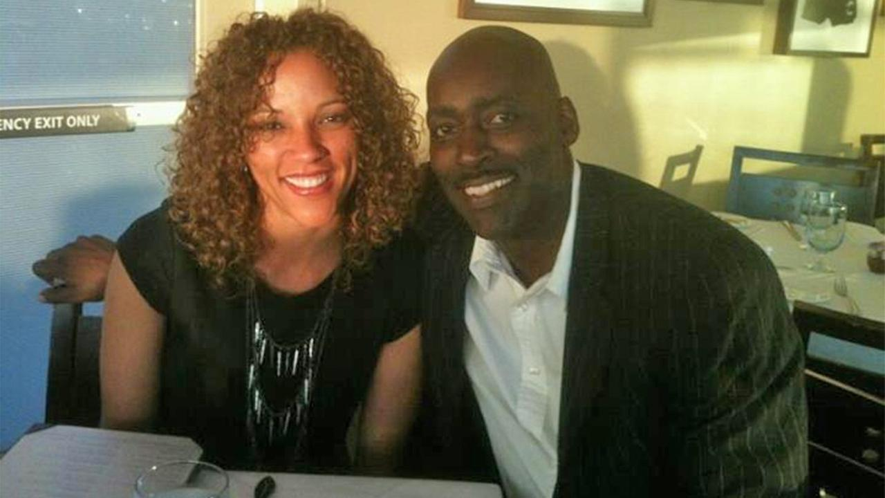 Michael and April Jace are seen in an undated photo posted on Aprils Facebook page.