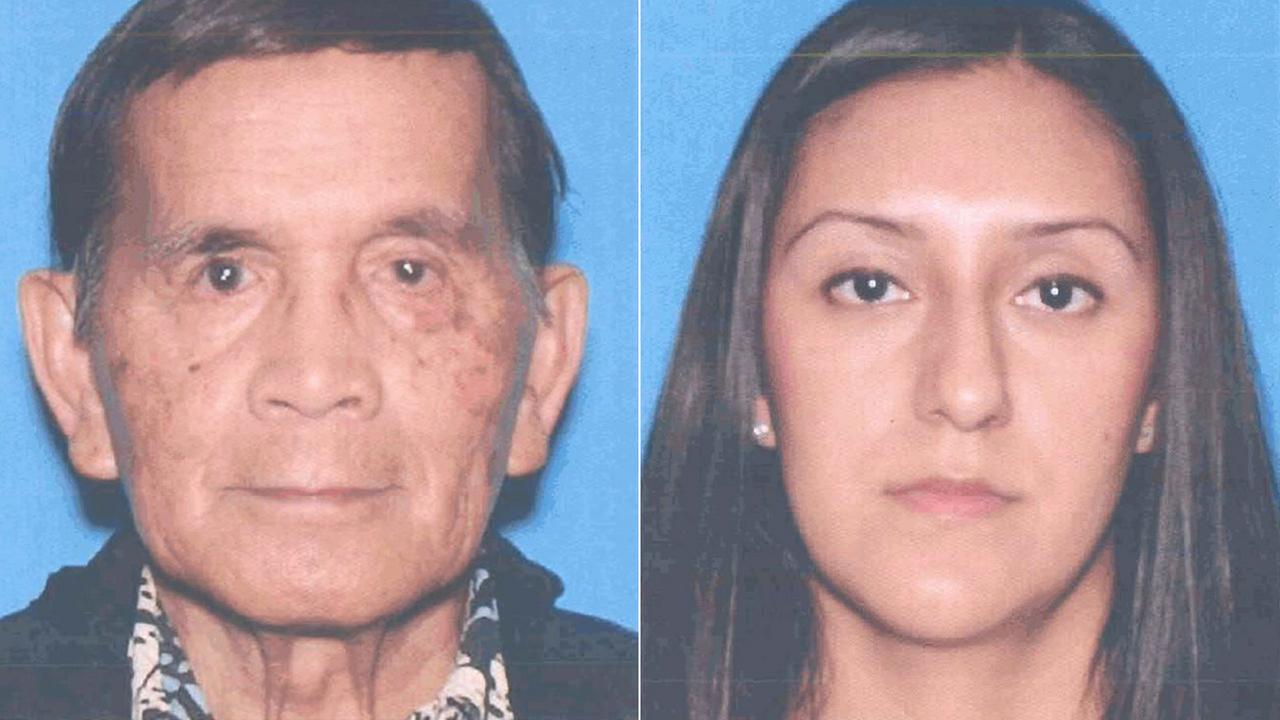 Manuel Daza Mercado of Laguna Woods (L) and Sandra Maldonado of Mission Viejo (R) are seen in these photos from the California Department of Motor Vehicles.