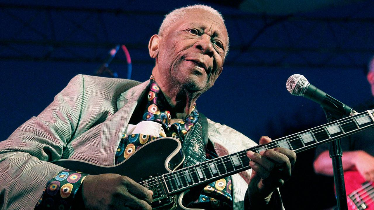 B.B. King, whose heartfelt vocals earned him the nickname King of the Blues, died Thursday, May 14, 2015 at his home in Las Vegas. He was 89.