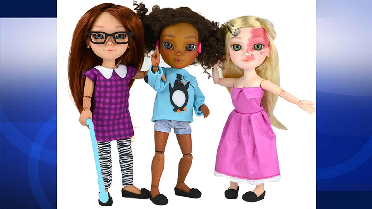 Makies dolls are shown on the companys Facebook page.