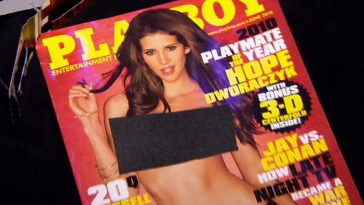 A Playboy magazine is seen in this undated file photo.