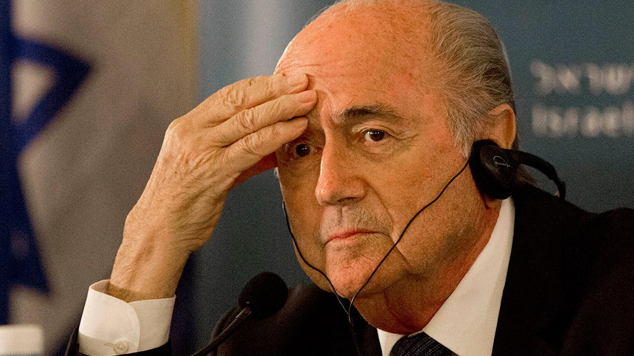 FIFA President Sepp Blatter says he will resign from his position amid a widening corruption scandal.