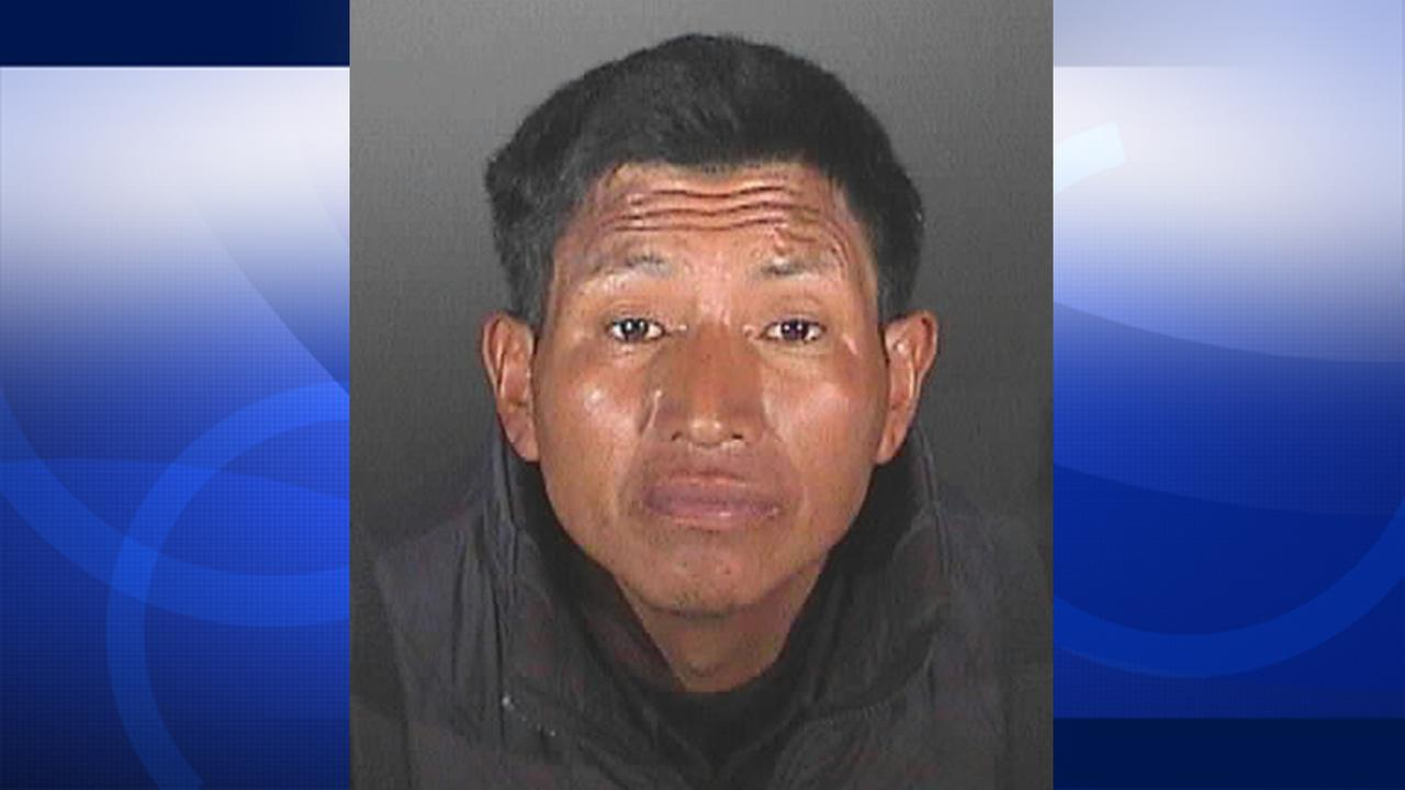 Emilio Buch is shown in this booking photo. He is accused of sexually battering a homeless woman in Pasadena.