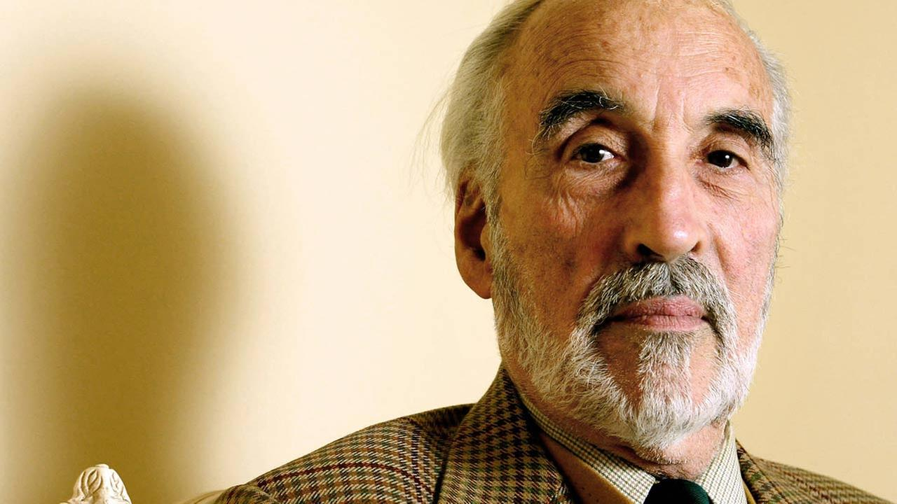 British actor Christopher Lee, known for roles from Count Dracula to the wicked wizard Saruman in The Lord of the Rings trilogy, died on June 7, 2015. He was 93.