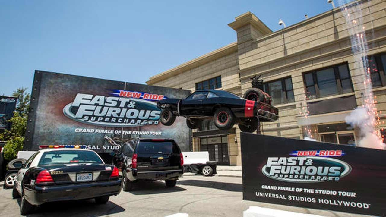 Fast and Furious - Supercharged debuted at Universal Studios Hollywood on Wednesday, June 24, 2015.