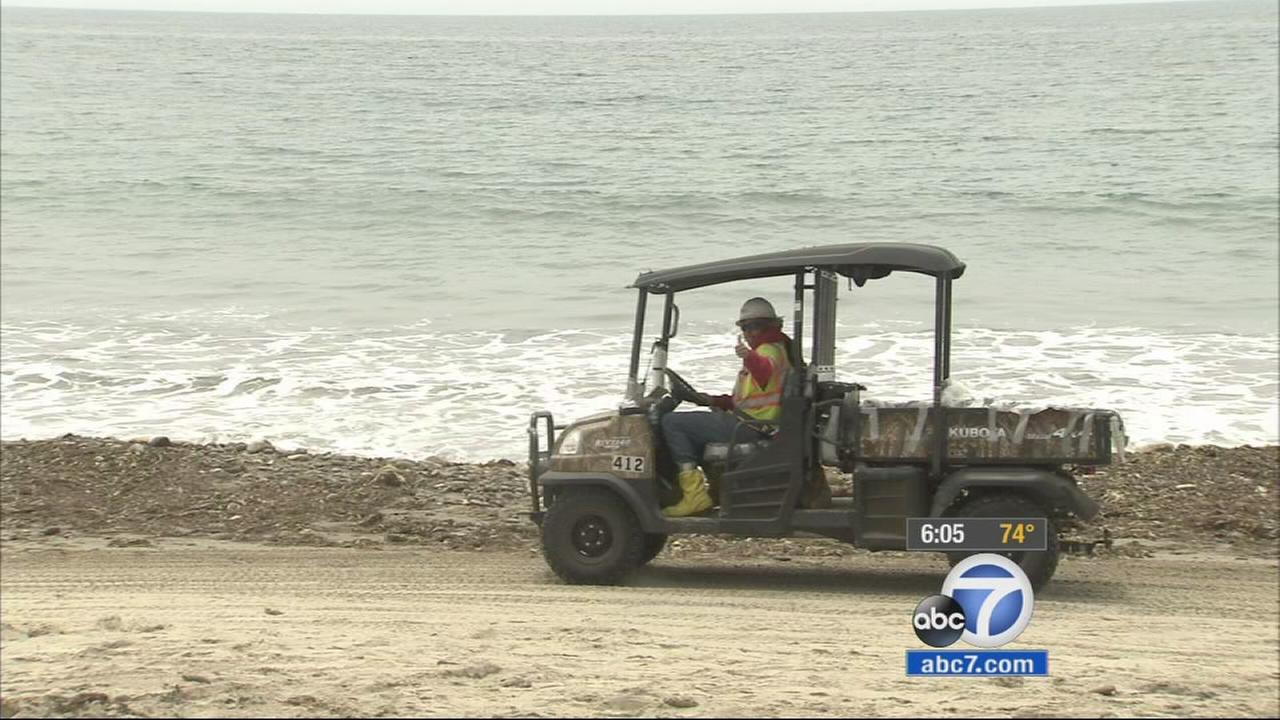 El Capitan State Beach reopened to the public Friday, June 26, 2015 about a month after a ruptured pipeline spilled more than 100,000 gallons of oil.
