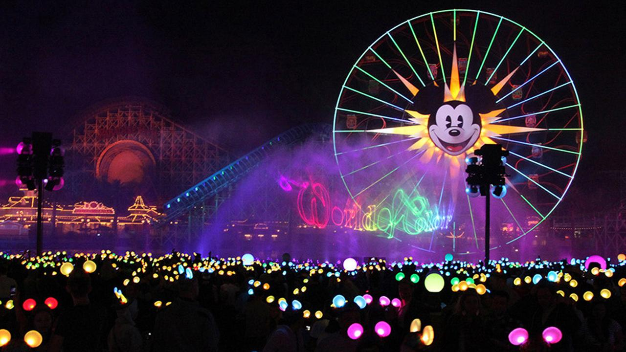 File image of the new World of Color show that debuted in May 2015 as part of Disneylands 60-year diamond anniversary celebration.