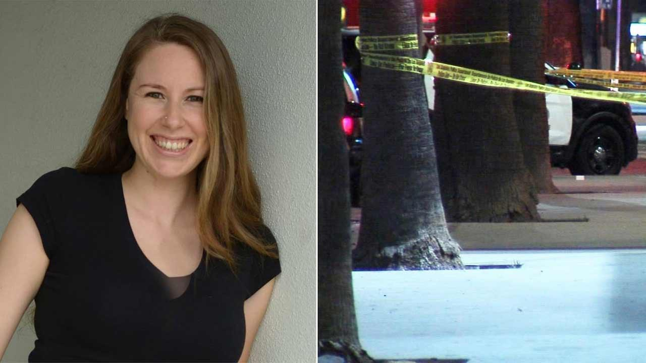 Carrie Jean Melvin, 30, was fatally shot near Sunset Boulevard and McCadden Place in Hollywood Sunday, July 5, 2015.