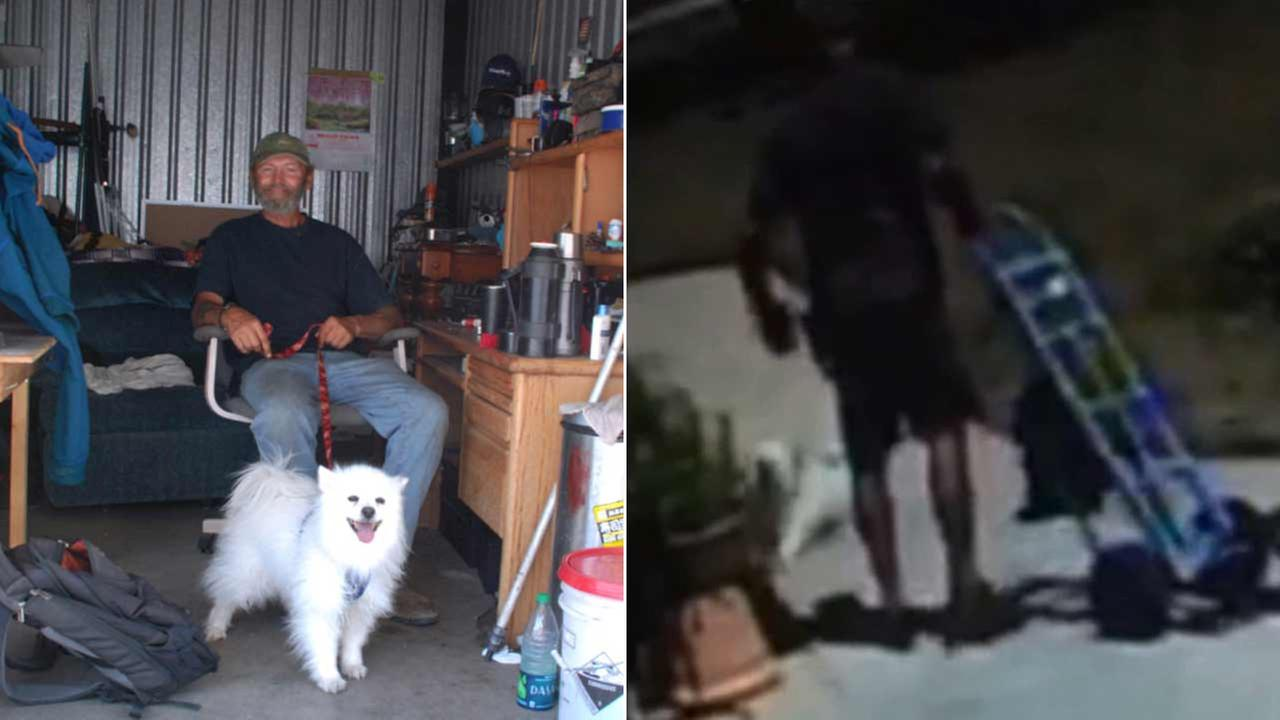 Timothy Paulsen says a UPS driver kicked his service dog and then pushed him outside of an assisted-living facility in Atascadero.