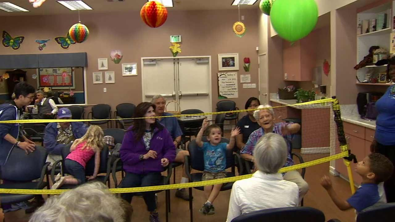 The ONEgeneration daycare facility in Van Nuys offers a unique intergenerational program that brings together seniors and children.