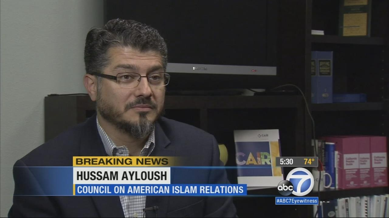 Hussam Ayloush, executive director of the Council on American-Islamic Relations in Los Angeles, fears Thursdays mass shooting in Chattanooga, Tennessee will reflect badly on the Muslim community.