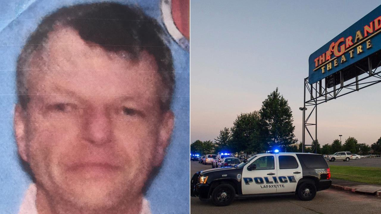 The suspected gunman who opened fire at a Louisiana movie theater was identified as 59-year-old John Russel Houser, described by police as a drifter.