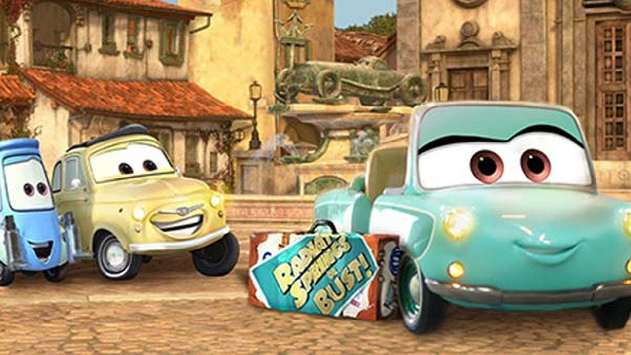 Disneys California Adventure is getting a new ride: Luigis Rollickin Roadsters.