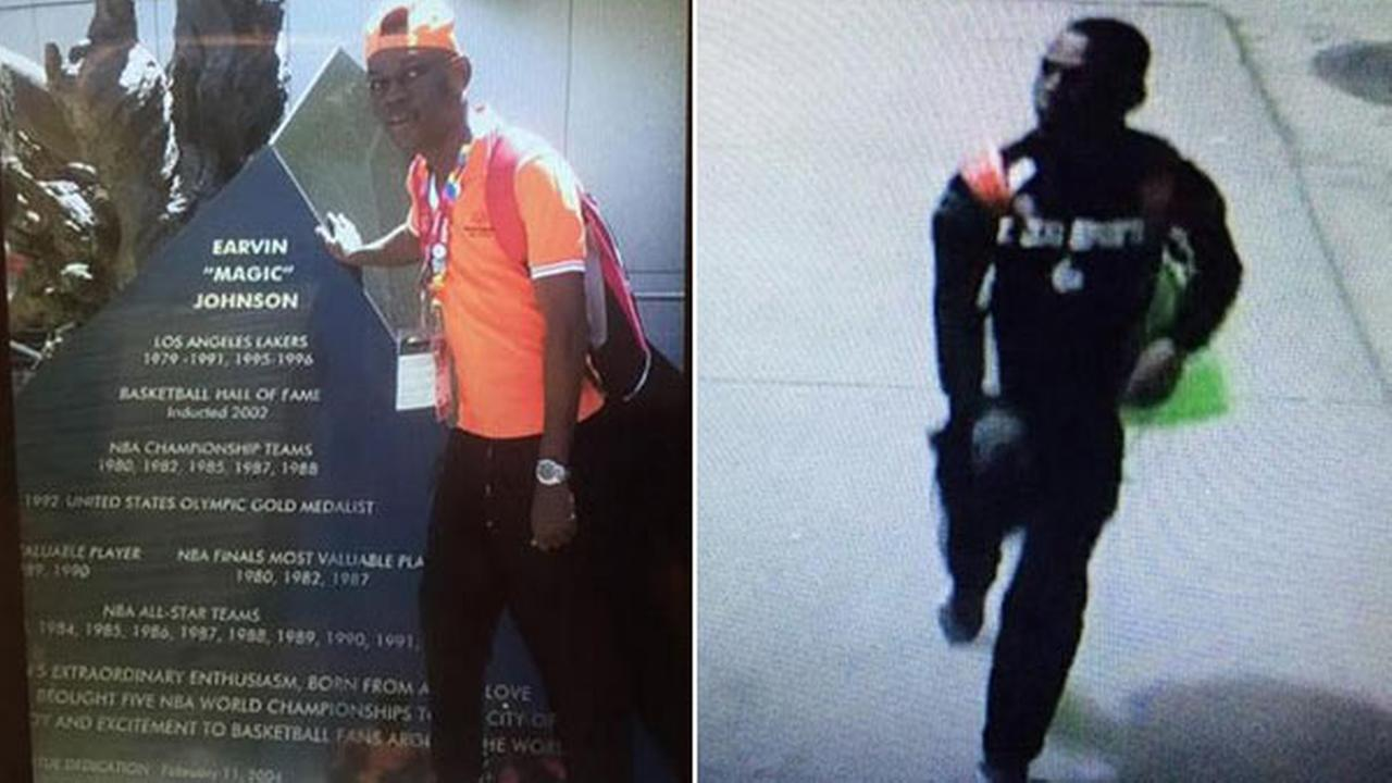 LAX police released these images of Shion Isimel, who was last seen in Terminal 5 on Monday, Aug. 3, 2015.