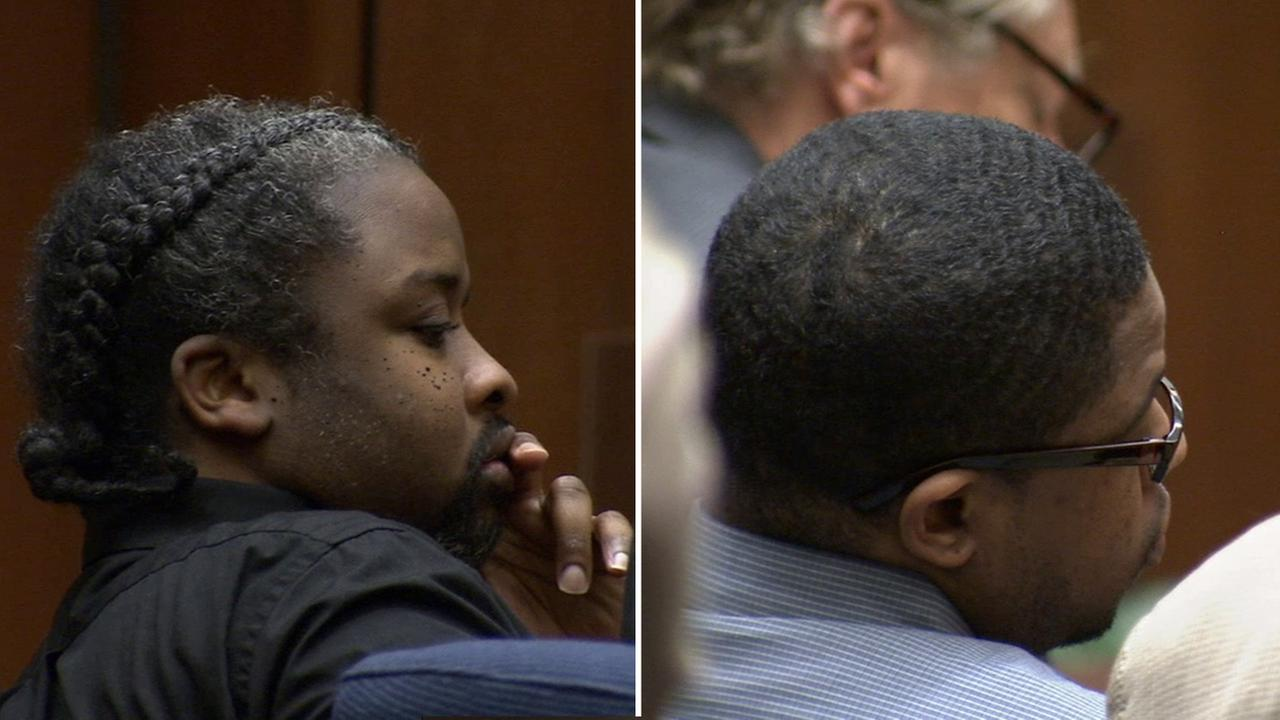 Darnell Deshon Houston and Lamar McKnight were found guilty in the fatal shooting of a 25-year-old mother in front of her 3-year-old daughter on Christmas Day.