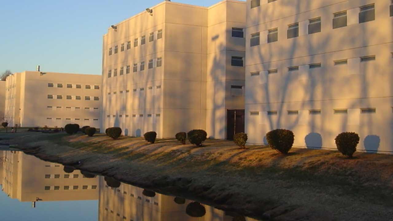 The Hampton Roads Regional Jail is seen in this photo.