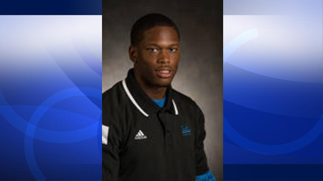 Ishmael Adams, 21, is seen in a photo posted on UCLAs website