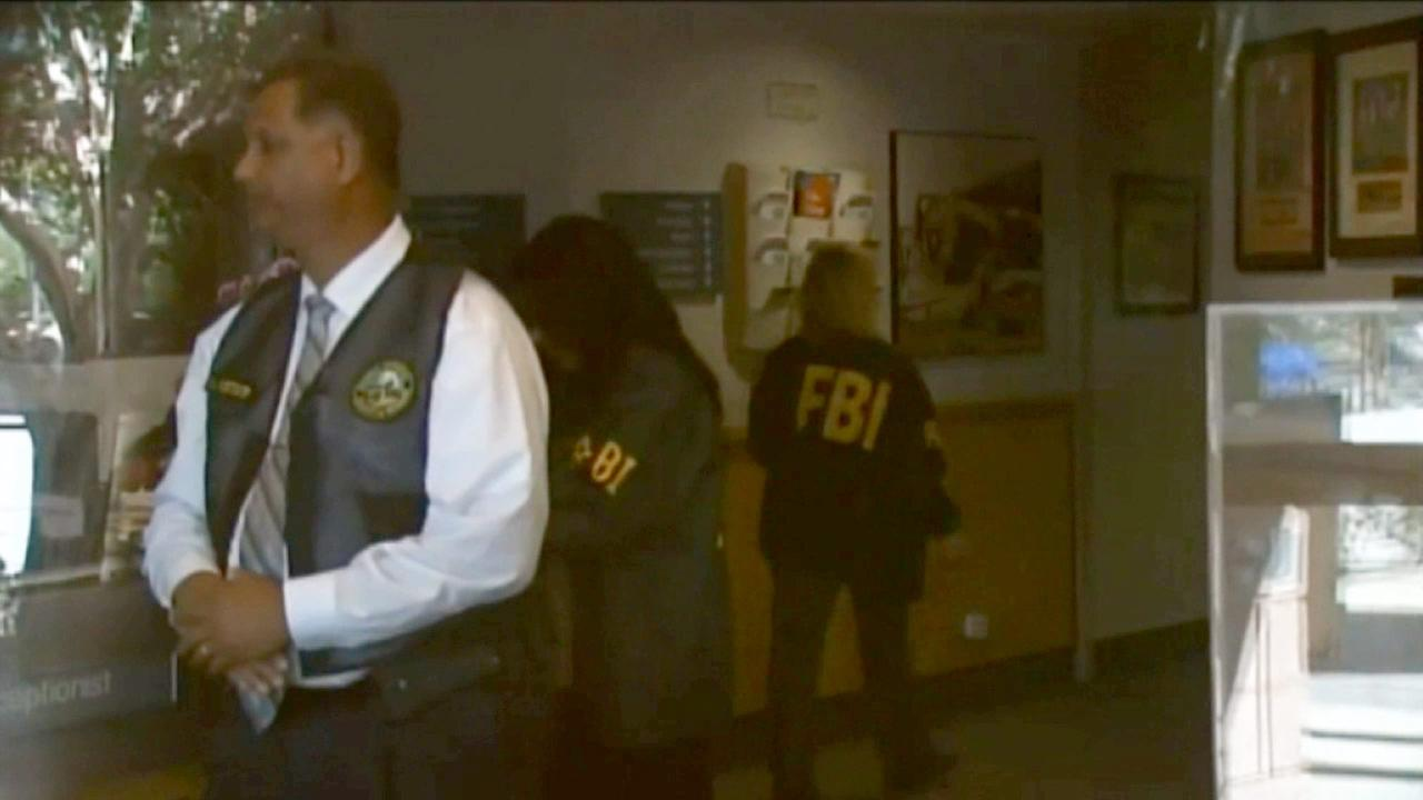 FBI agents served federal search warrants at Palm Springs City Hall on Tuesday, Sept. 1, 2015, according to KESQ-TV, an ABC affiliate in Palm Springs.