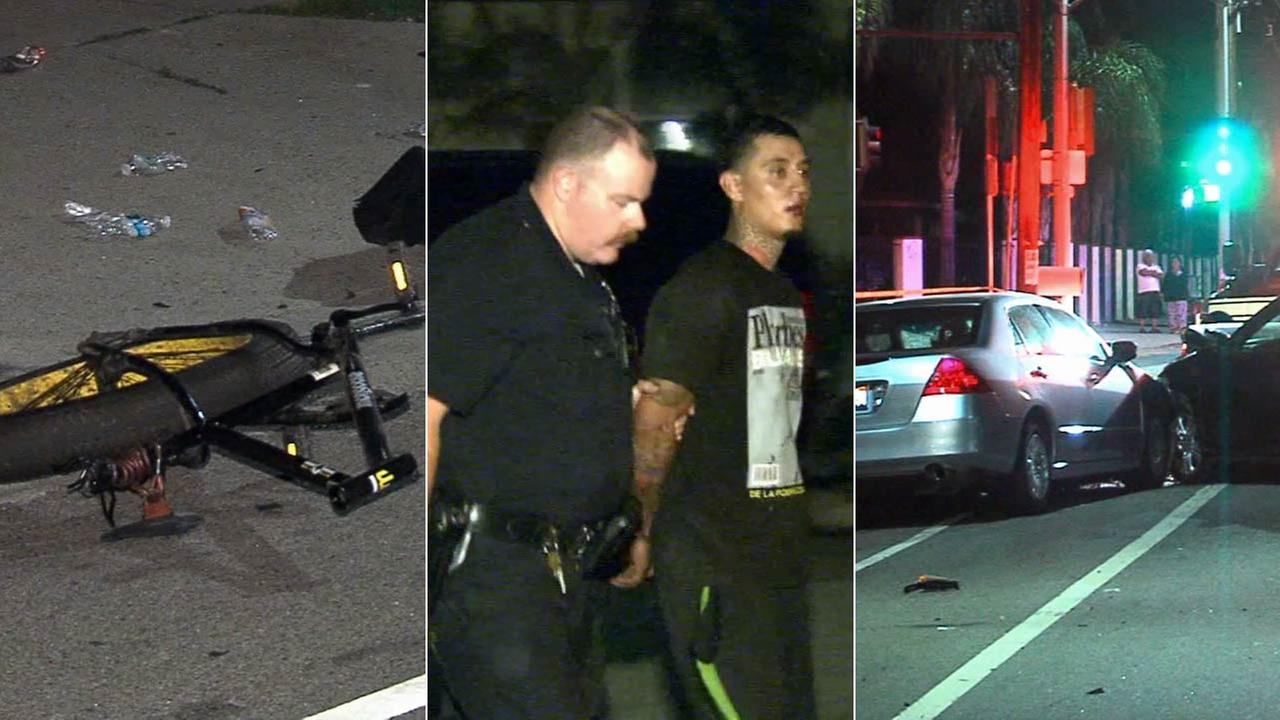Suspect Arrested In Arleta Hit And Run Crash That Killed Bicyclist
