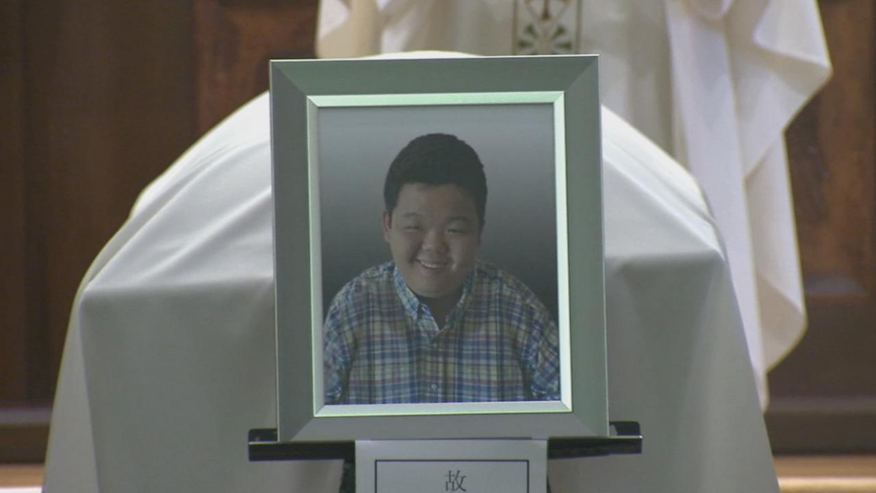 A funeral was held for Hun Joon Paul Lee in Norwalk on Saturday, Sept. 19, 2015.