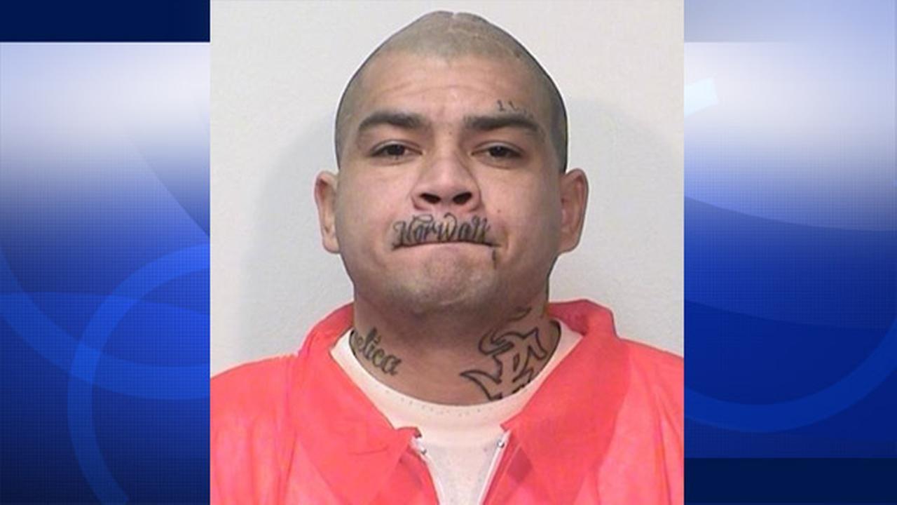 Joseph R. Gallegos, 29, is shown in an undated mugshot photo.