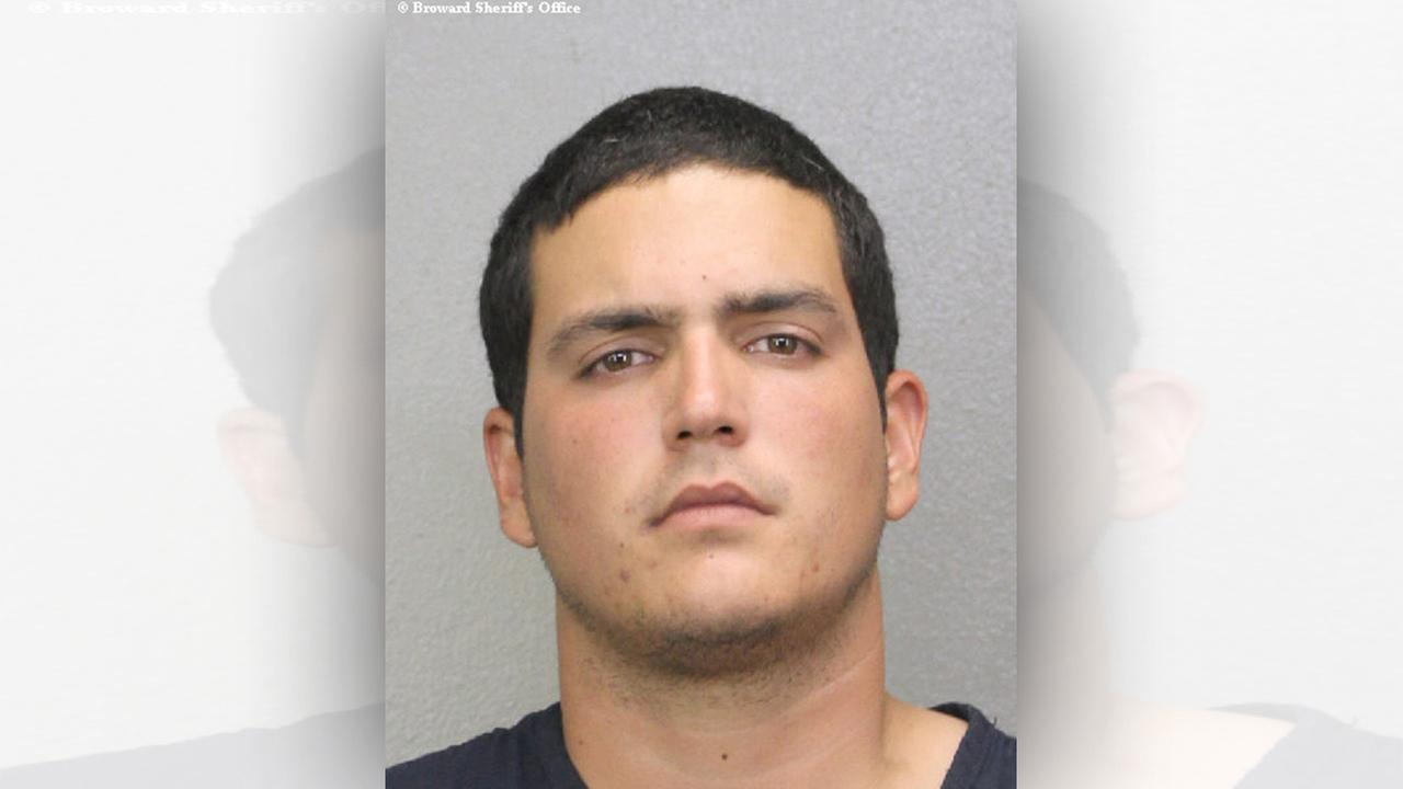 Fidel Lopez, 24, is seen in this photo provided by the Broward County Jail.
