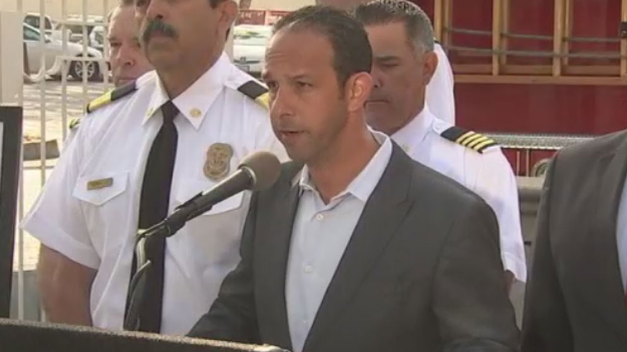FILE - Los Angeles City Councilman Mitchell Englander is pictured speaking at an event.