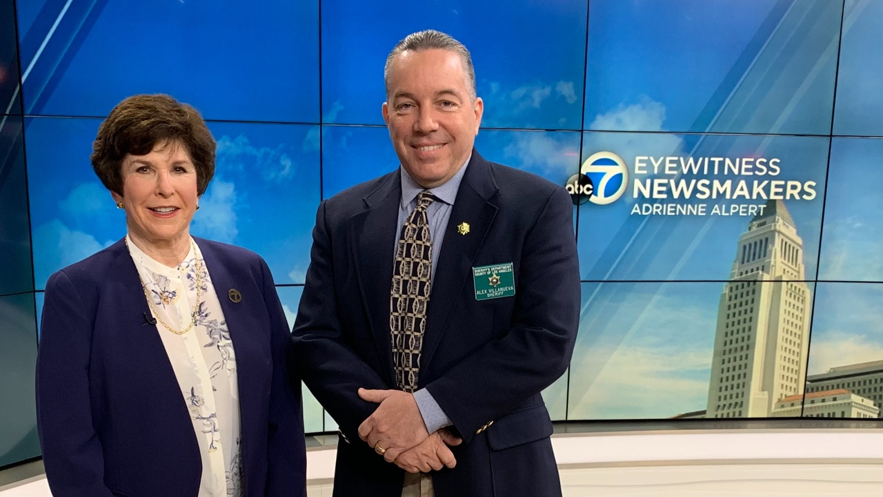 LASD Sheriff Alex Villanueva discusses several issues on Eyewitness Newsmakers.