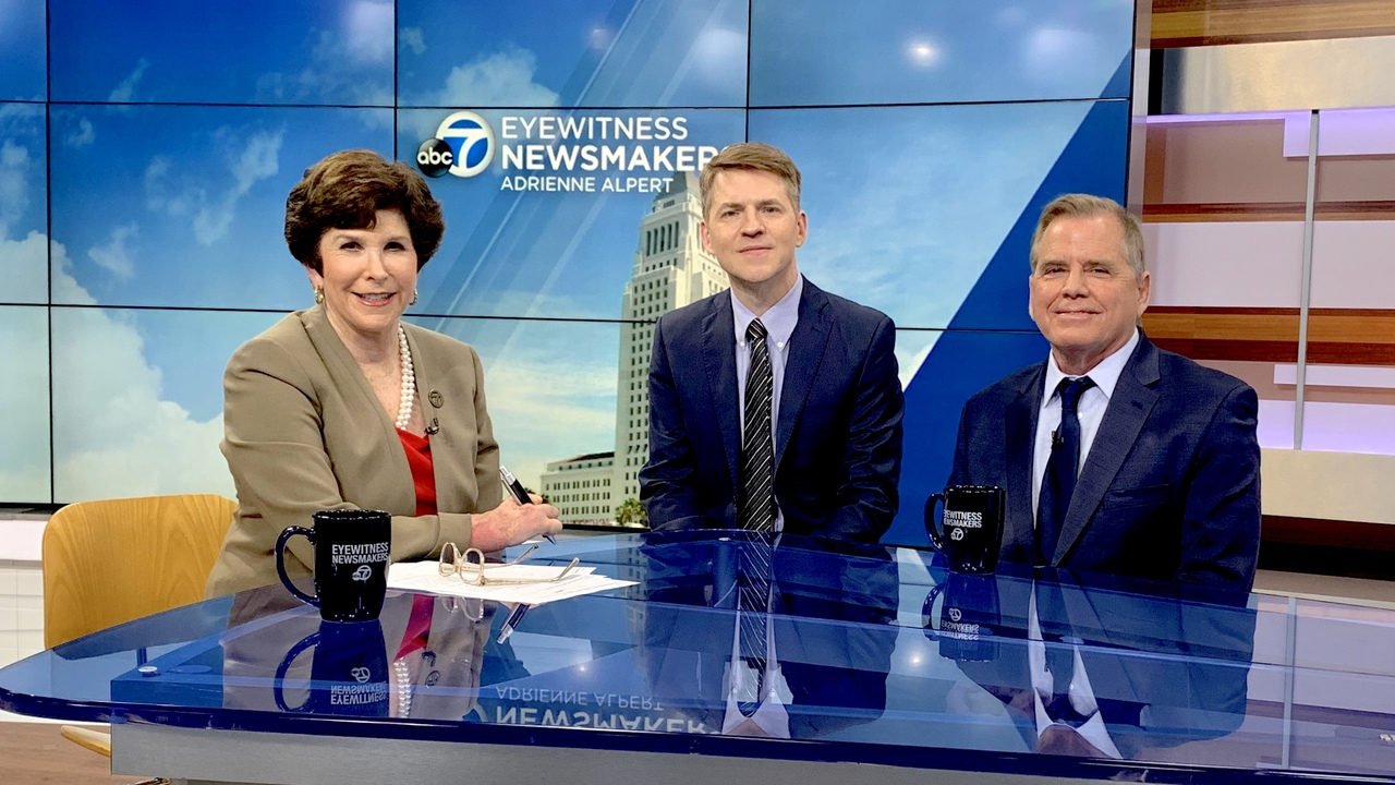 On Eyewitness Newsmakers, Reverend Andy Bales, CEO of the Union Rescue Mission, says Los Angeles housing plans will only put a roof over 25 percent of the population.