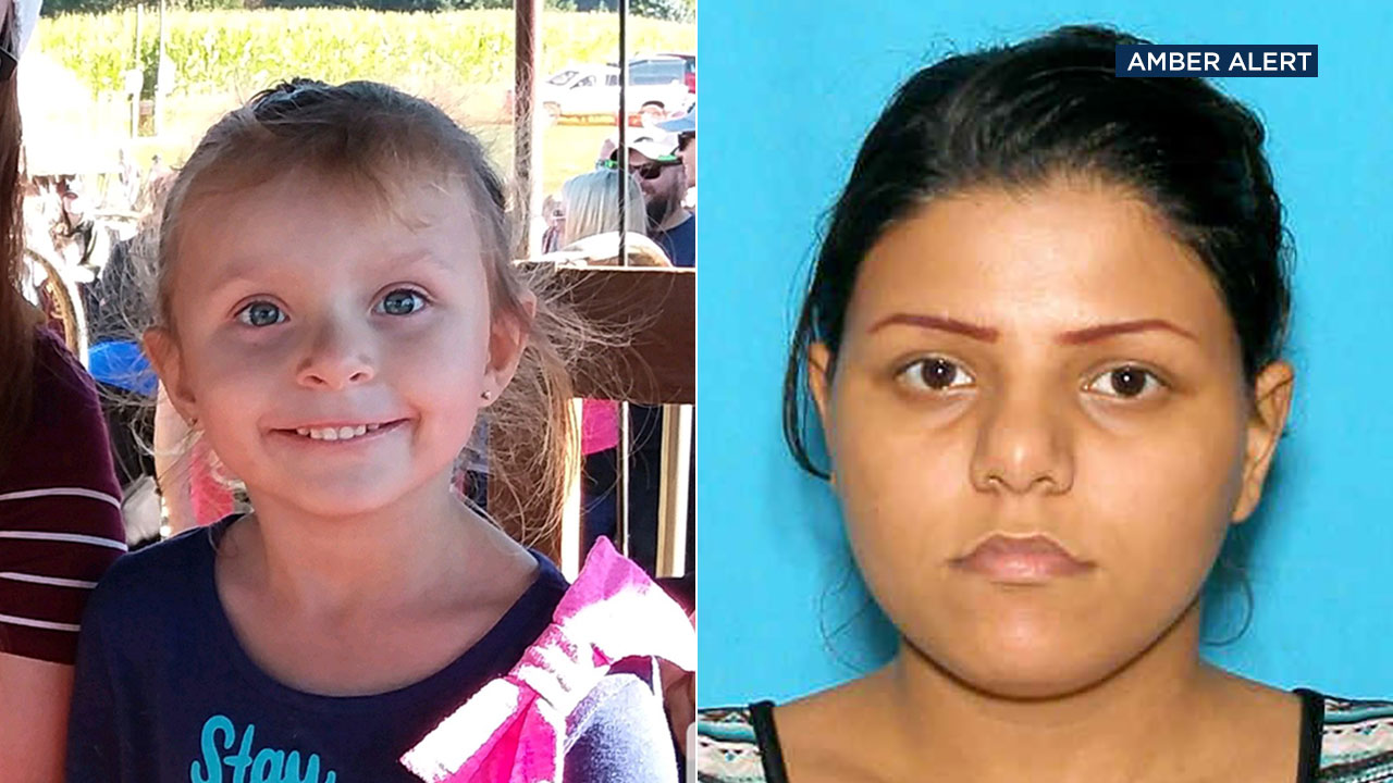 Authorities have issued an Amber Alert for Aranza Maria Ochoa Lopez (left). She is believed to be traveling with the suspect, Esmeralda Lynn Lopez.