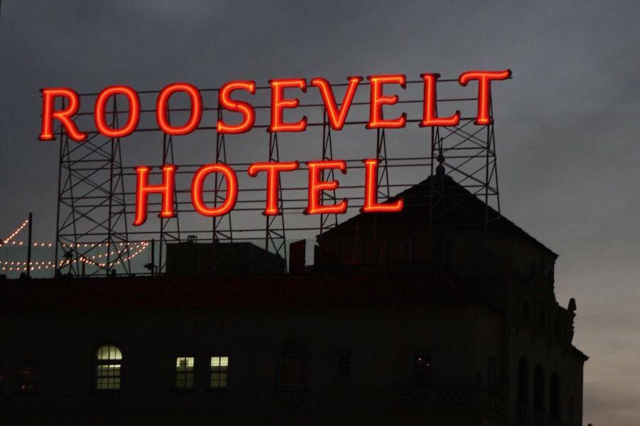 The Hollywood Roosevelt.   Photo: Ron G./Yelp