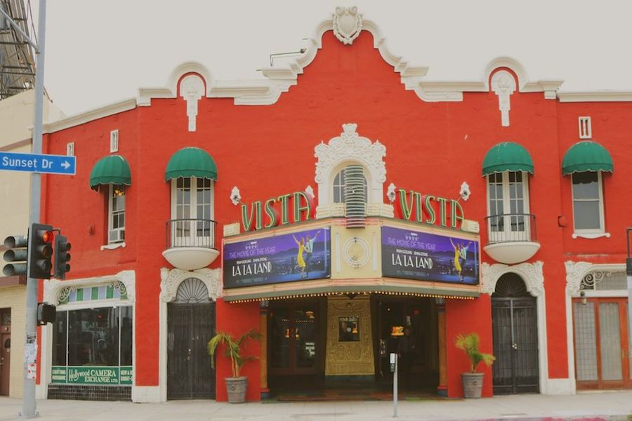 Vista Theatre. | Photo: Krystal A./Yelp