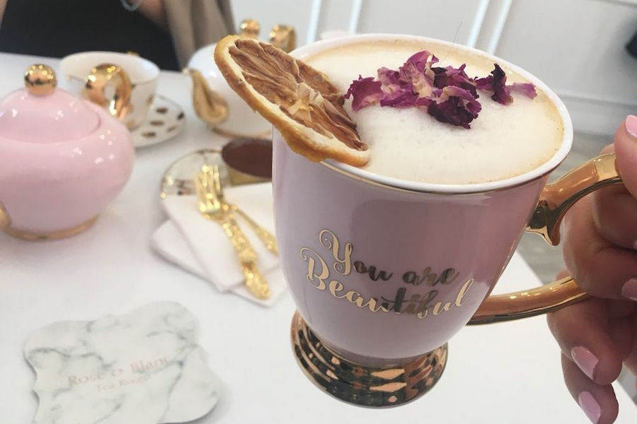 Rose and Blanc Tea Room. | Photo: Jane P./Yelp