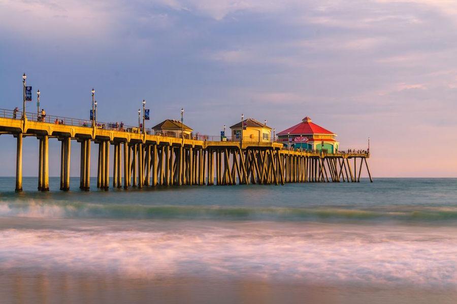 Huntington Beach Pier. | Photo: Bella P./Yelp