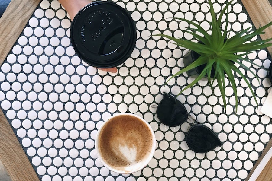 Blkdot Coffee. | Photo: Ellie W./Yelp
