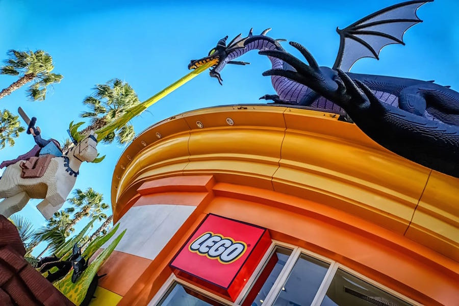 The Lego Store. | Photo: Mark L./Yelp