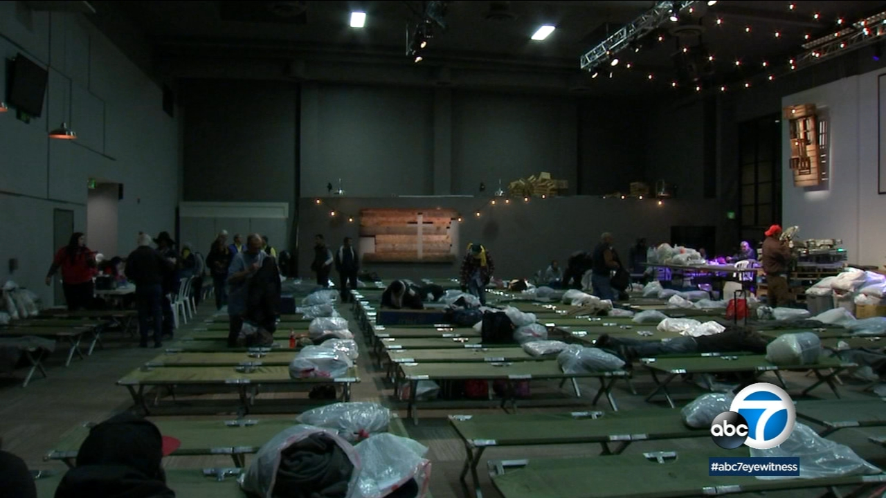 About 200 people in Glendora got much-needed help Thursday night, thanks to a winter shelter program organized by the East San Gabriel Valley Coalition for the Homeless.