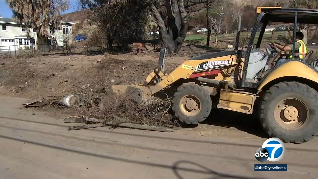 SoCal burn areas are bracing for rain this weekend that could bring mudslides and debris flows.