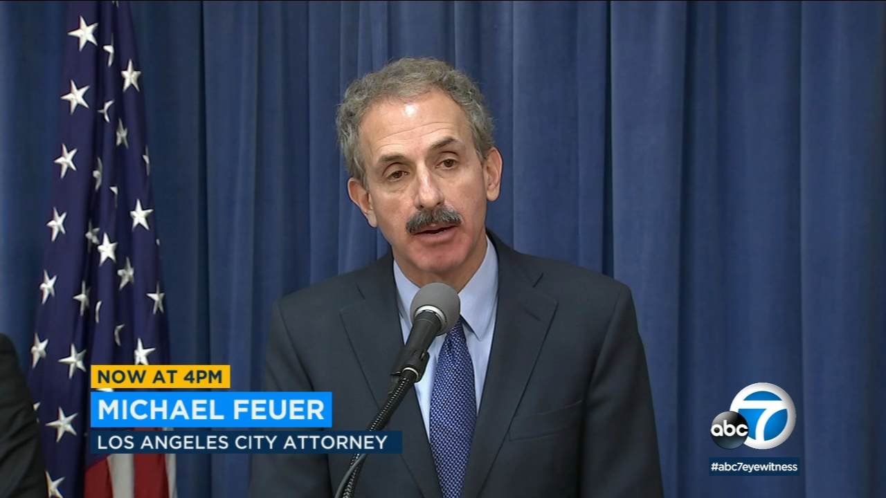 Los Angeles City Attorney Mike Feuer has filed a lawsuit against the Weather Channels mobile app over sharing of user data.