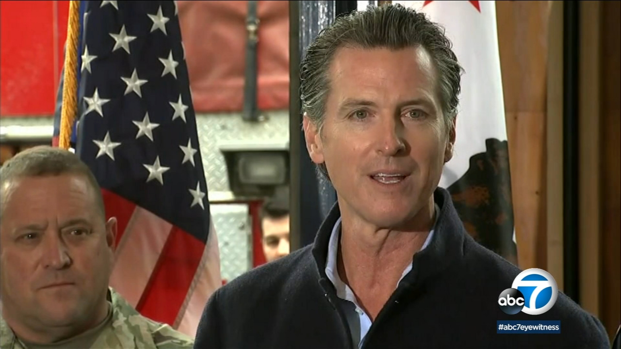 On his first full day in office Gov. Gavin Newsom pledged to make dealing with wildfires a top priority.