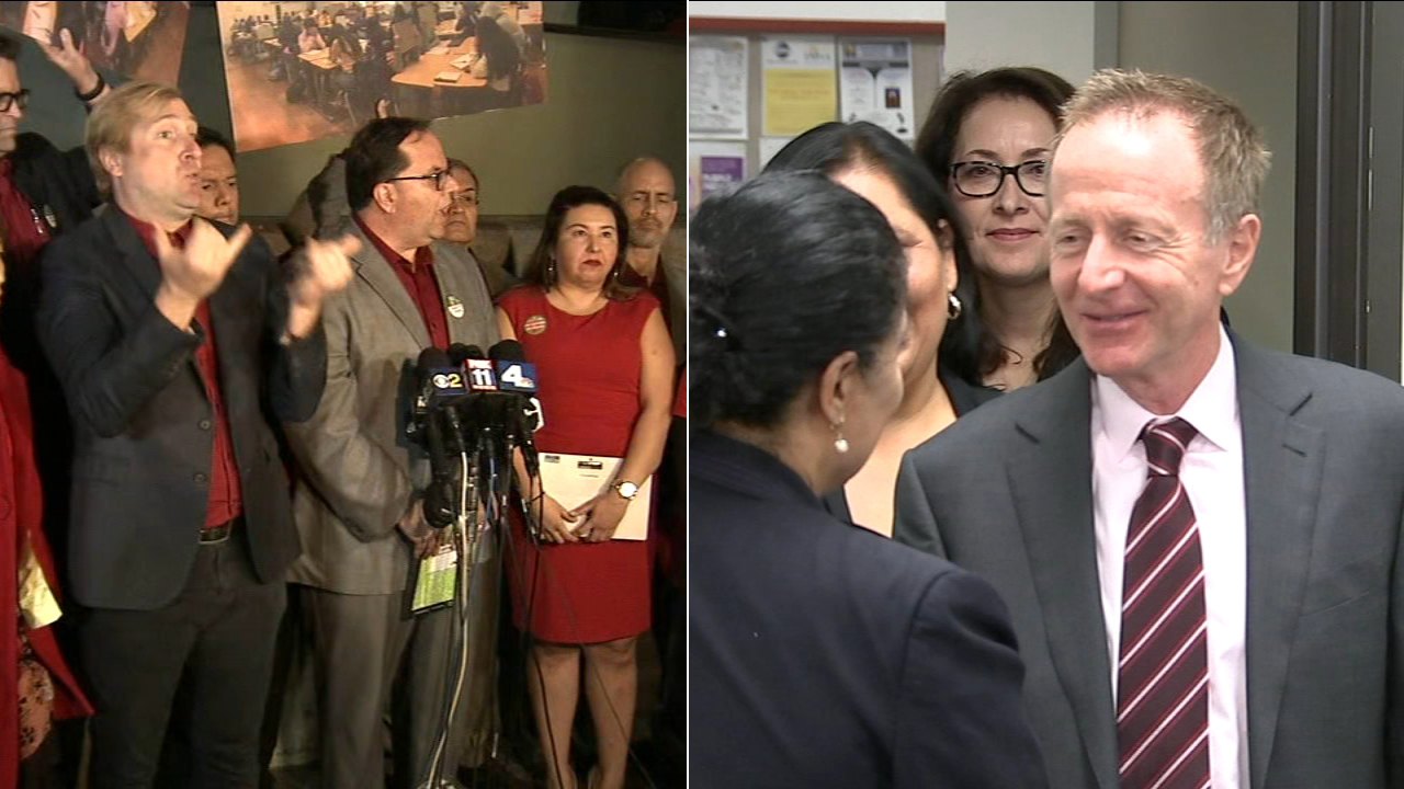 United Teachers Los Angeles on Friday, Jan. 11, 2019, rejected a revised offer by the Los Angeles Unified School District.
