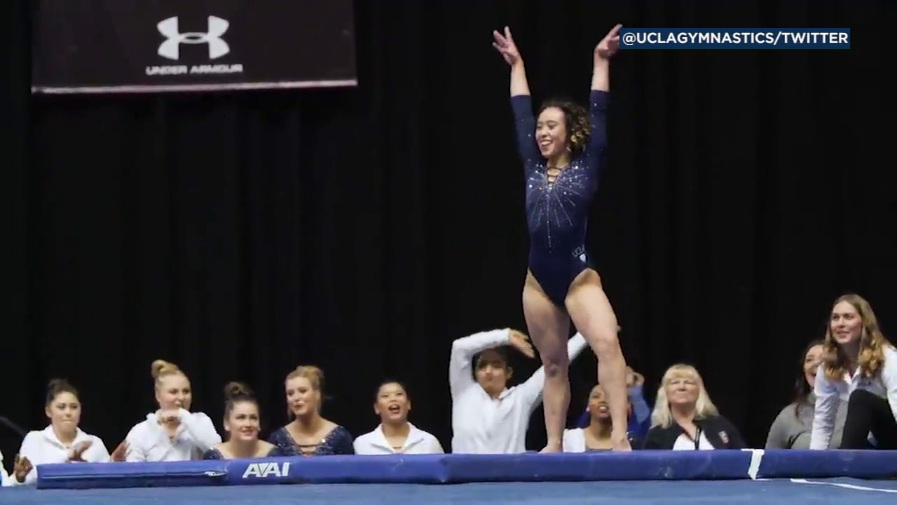 UCLA gymnast Katelyn Ohashi scored a perfect 10 over the weekend for an absolutely electrifying floor routine. Video of her performance has been viewed over 12 million times.