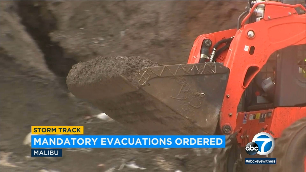 Malibu residents are preparing for more rain and potential mudslides as a series of storms continues to hit Southern California this week.