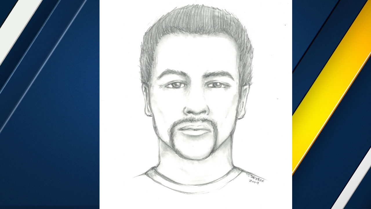 Authorities provided a sketch of the suspect.