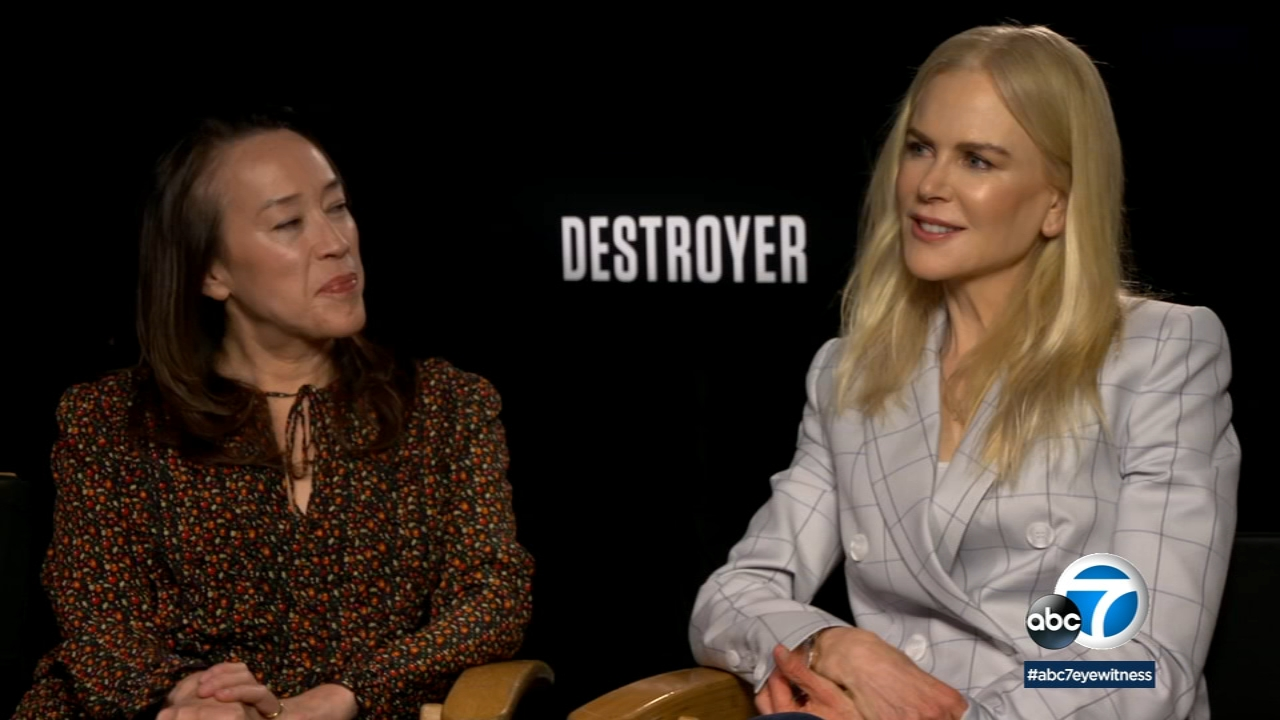 Nicole Kidman speaks about her new film, Destroyer.