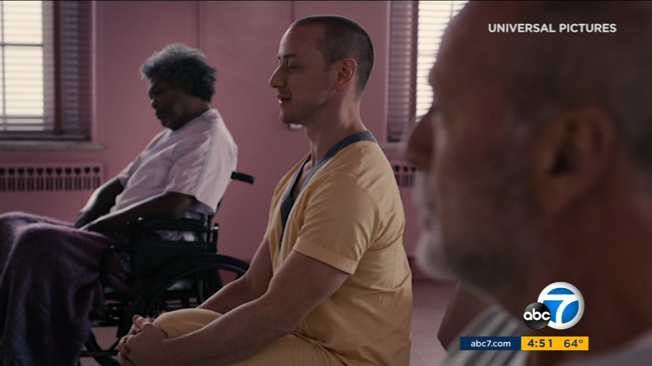 Samuel L. Jackson, Bruce Willis and James McAvoy return to the creative world of M. Night Shyamalan for Glass.