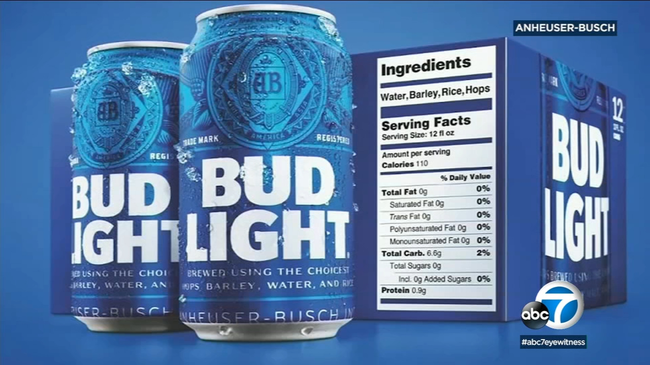 This is an undated file photo of Bud Light beer.