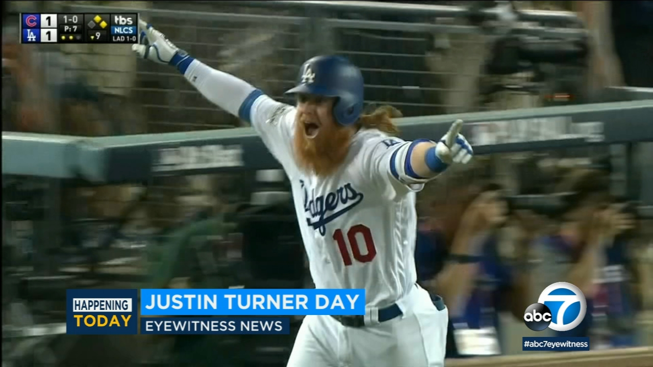 The Los Angeles City Council is declaring Tuesday Justin Turner Day to honor the Dodgers third baseman for his community work.