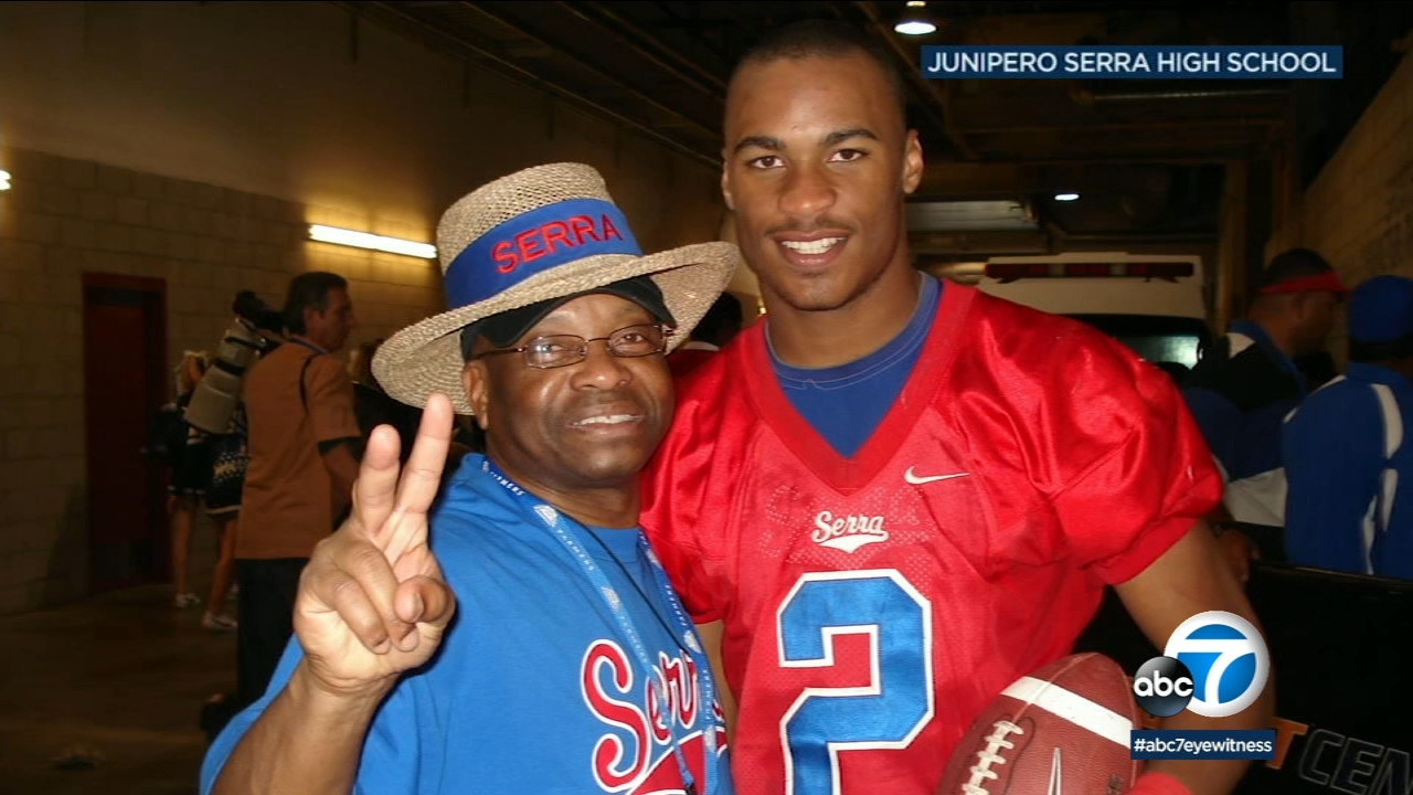 SoCal football powerhouse Junipero Serra High School is taking pride in one of its former players, Rams wide receiver Robert Woods, heading to the Super Bowl.